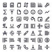 Line Essential Icons 75