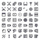 Line Essential Icons 85