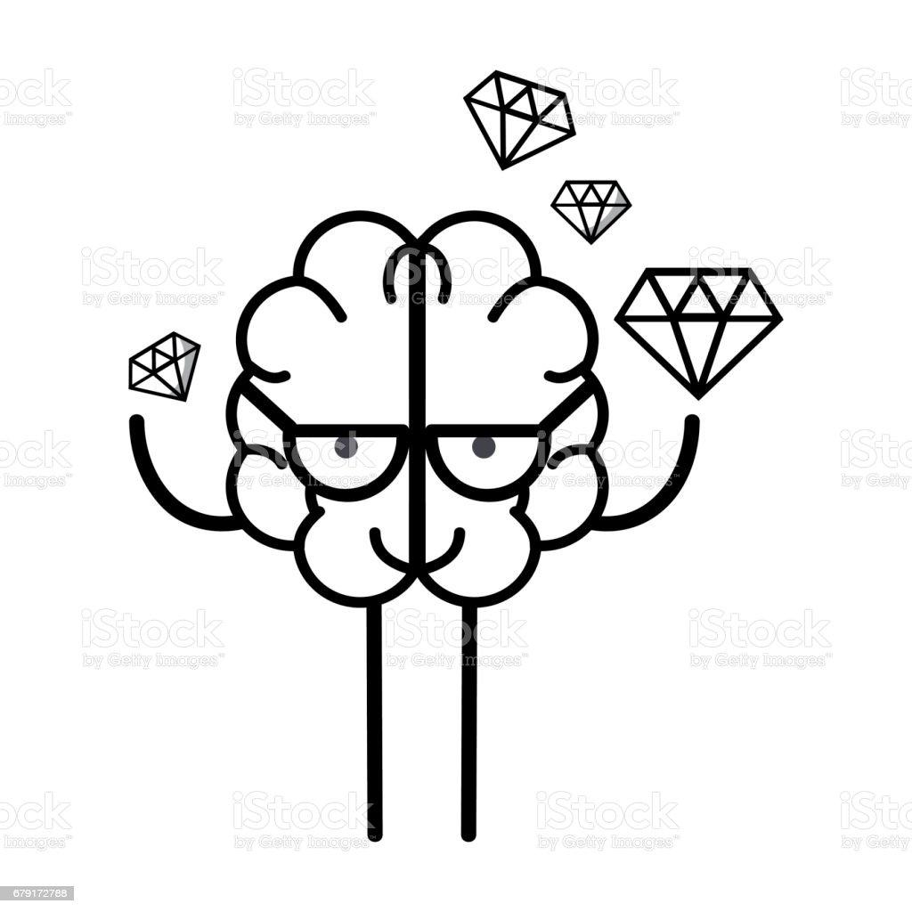 The human brain coloring book diamond - Diamond Shaped Digital Display Eyeglasses Human Brain Colombia