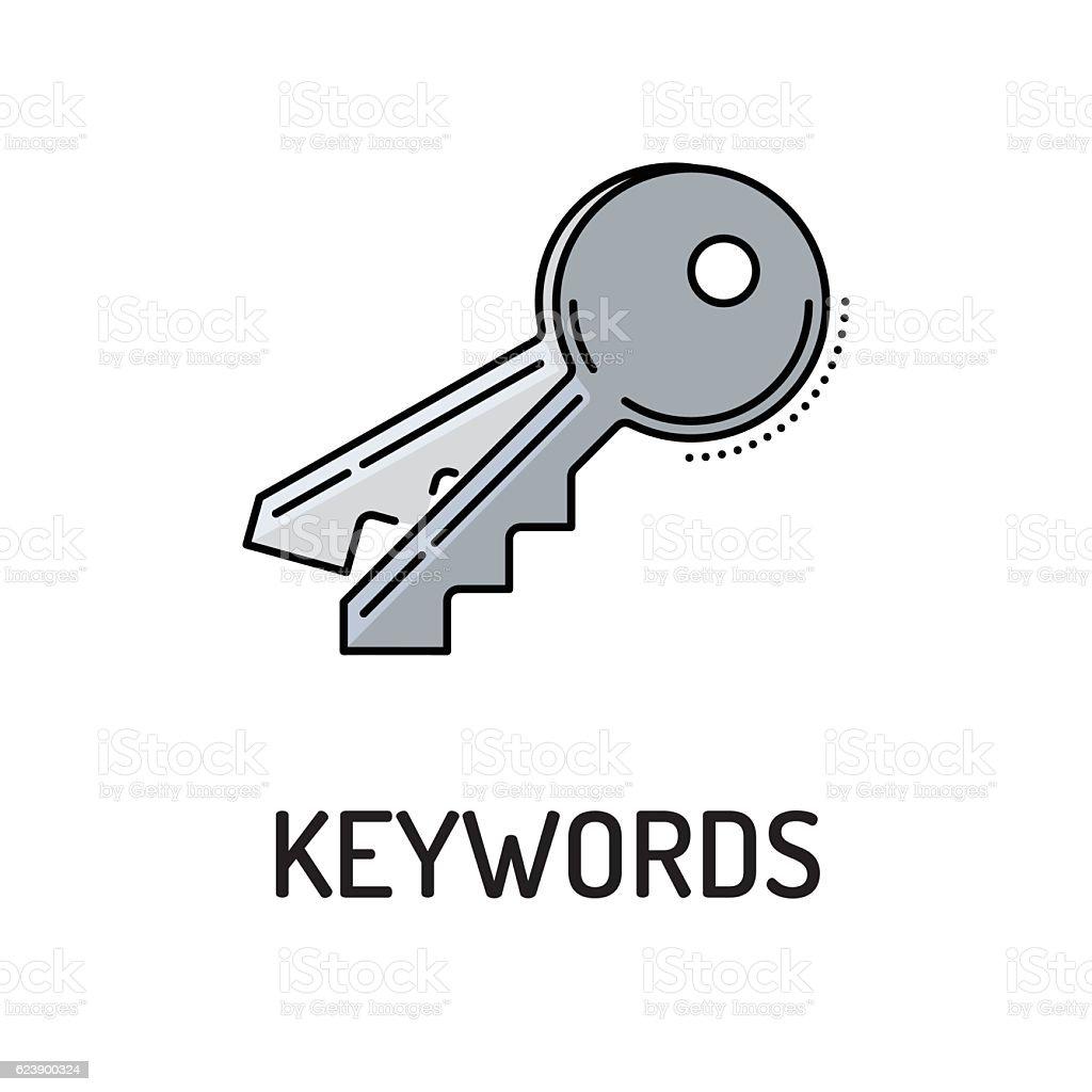 KEYWORDS Line icon vector art illustration