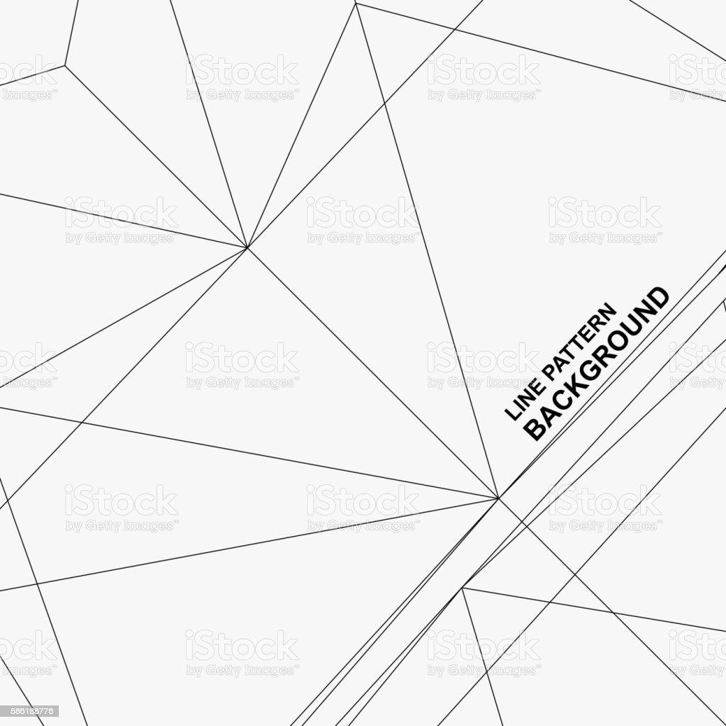 line pattern background vector art illustration