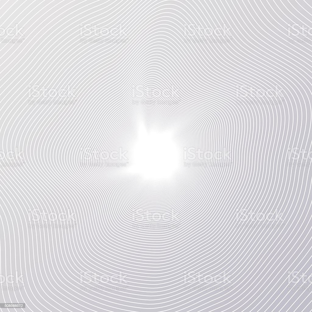 Line radial Tree rings vector art illustration