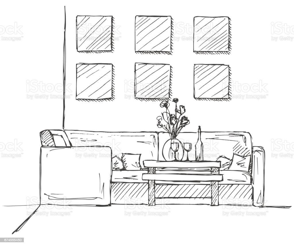 Dessiner Interieur Maison. Affordable Dessin D Interieur De Maison ...