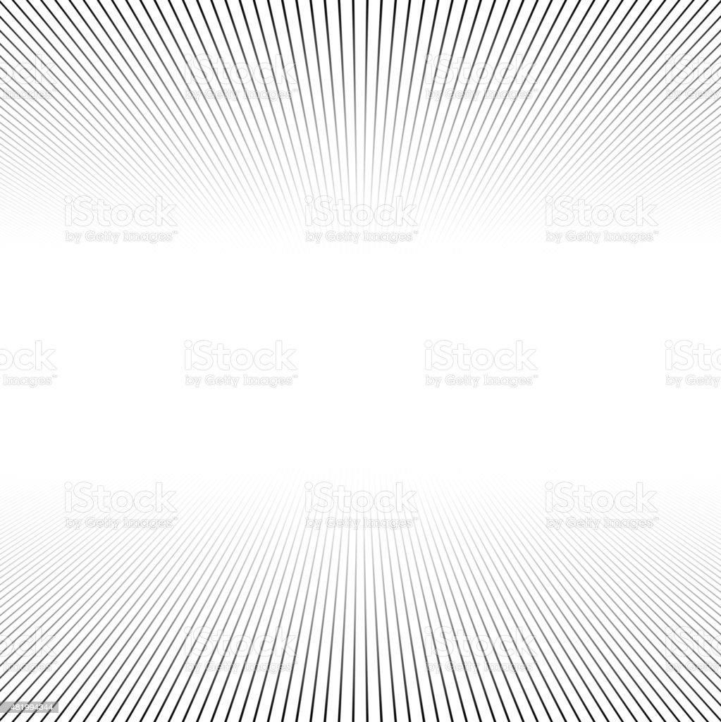 Lines perspective background vector art illustration