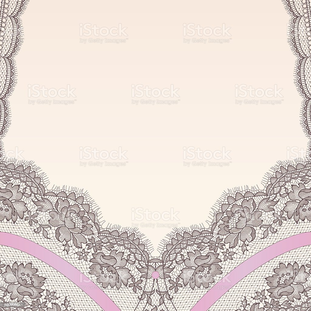 Lingerie. Lace. royalty-free stock vector art