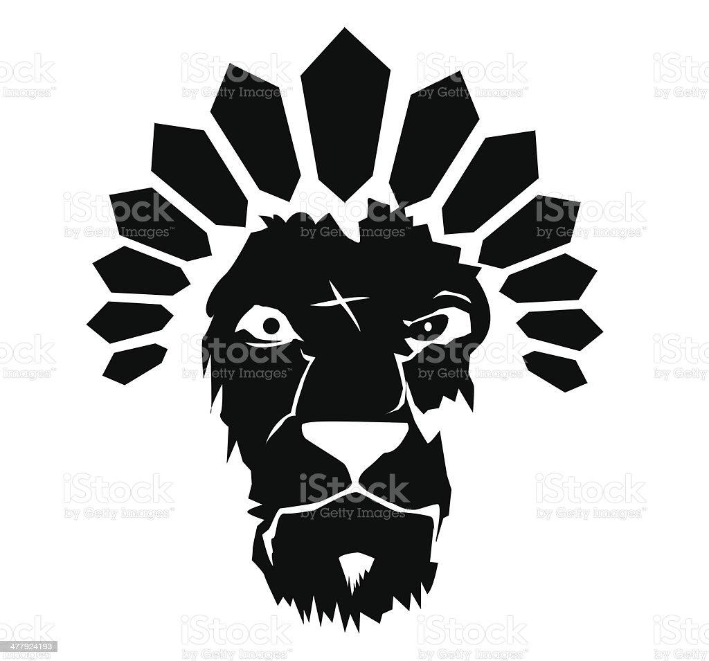 lion art royalty-free stock vector art