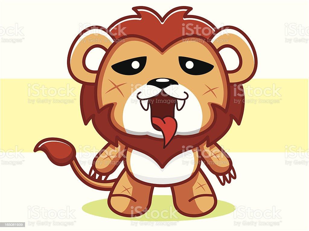 Lion Cartoon royalty-free stock vector art