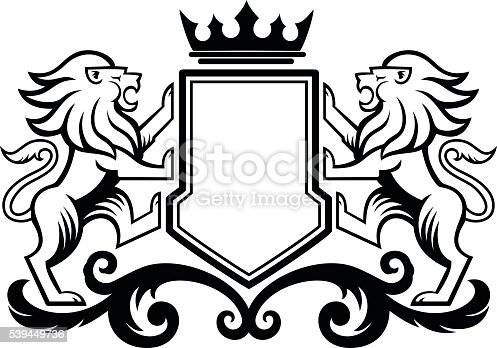 Lion Crest stock vector art 539449736 | iStock