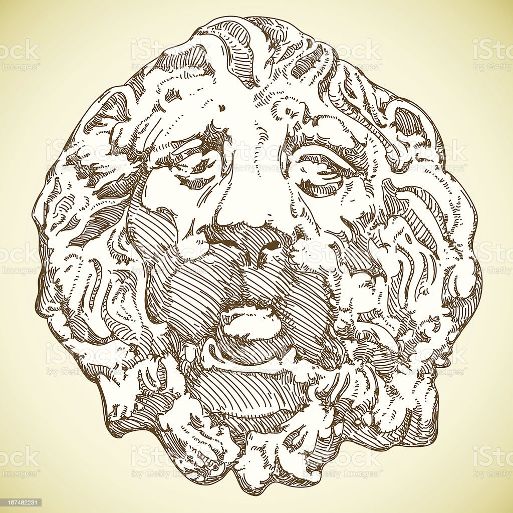 lion heraldic royalty-free stock vector art