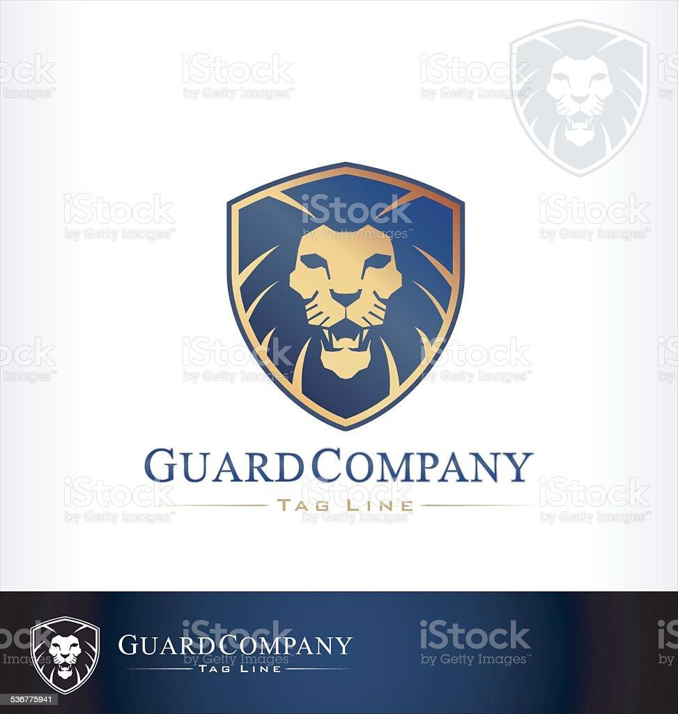 lion logo vector vector art illustration