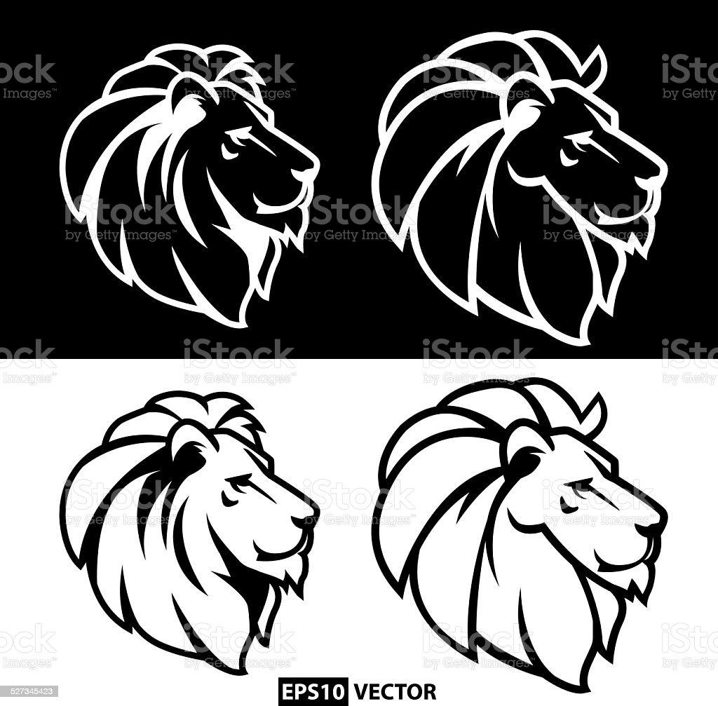 Lion royalty-free stock vector art