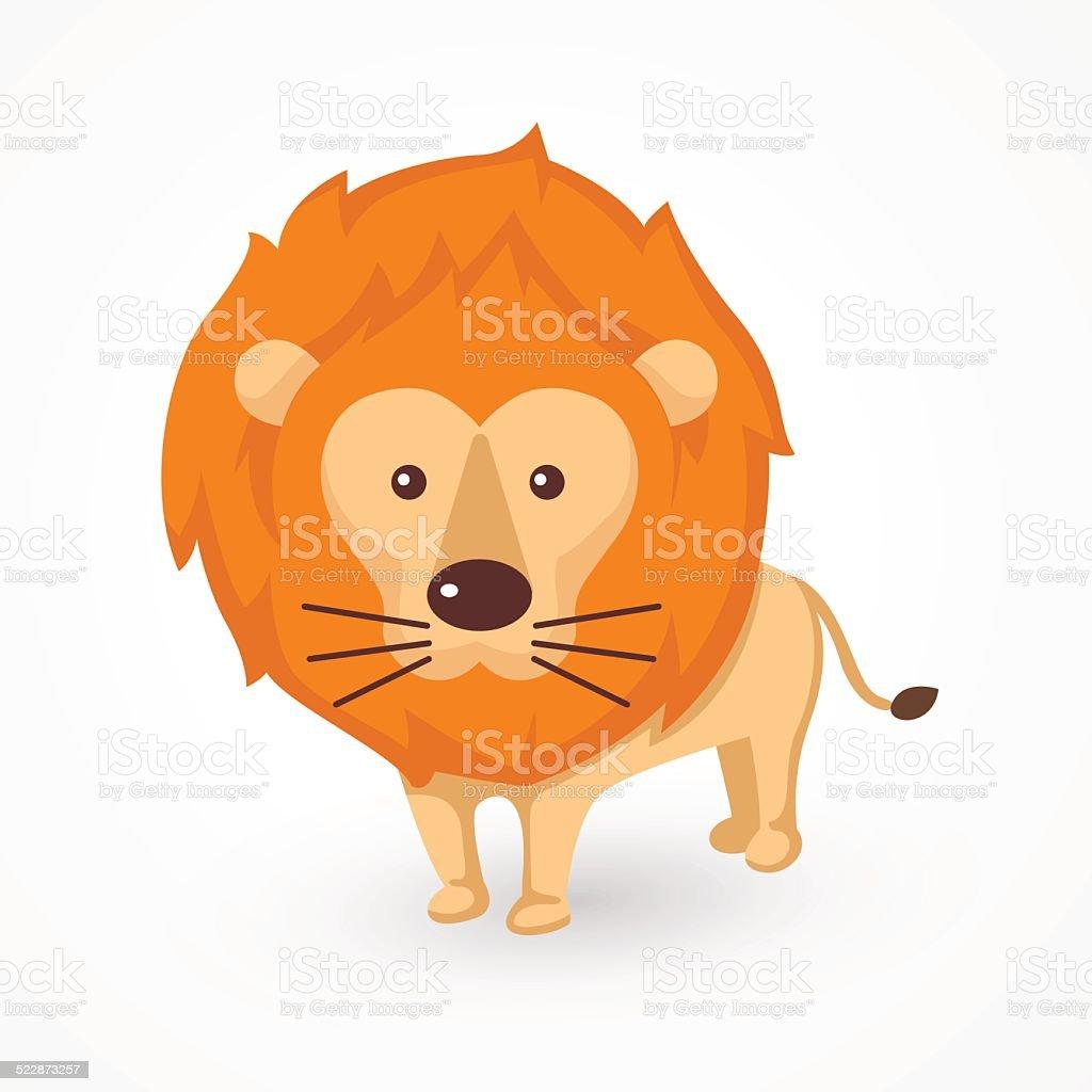 lion vector vector art illustration