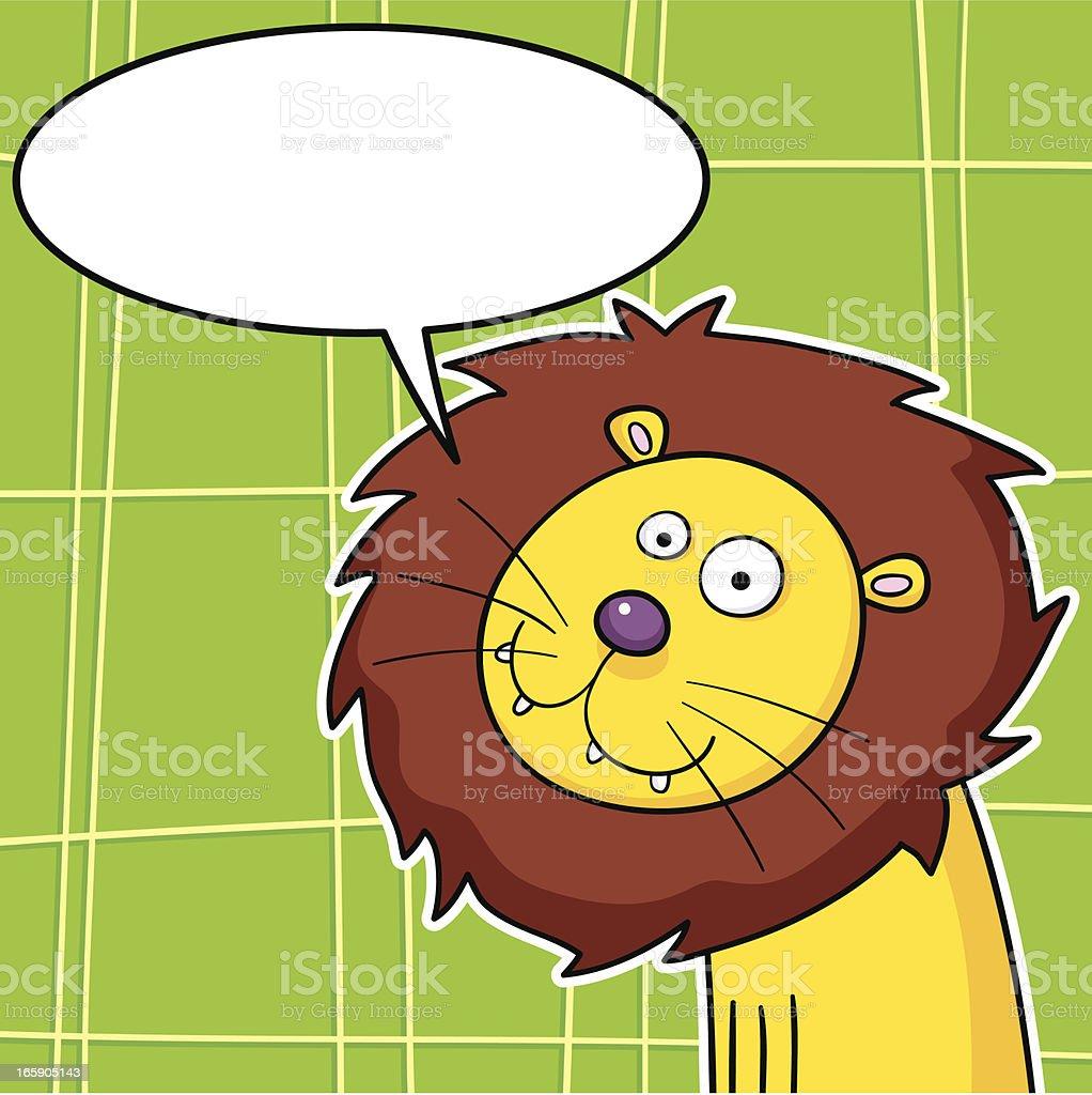 Lionhead royalty-free stock vector art