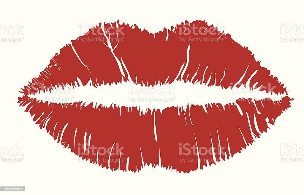 Lipstick - VECTOR royalty-free stock vector art