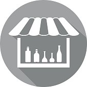 liquor shop icon