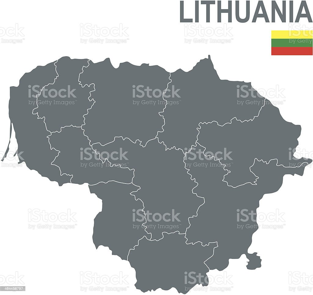 Lithuania royalty-free stock vector art