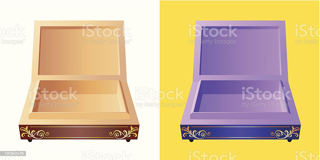 Little Box royalty-free stock vector art