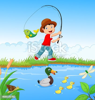 картинка ловим рыбу