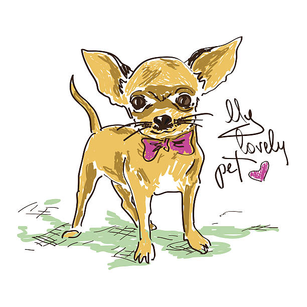 chihuahua dog clipart - photo #21
