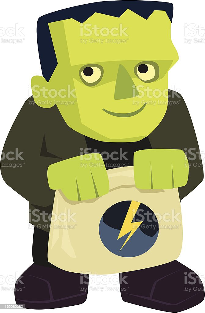 little frank royalty-free stock vector art