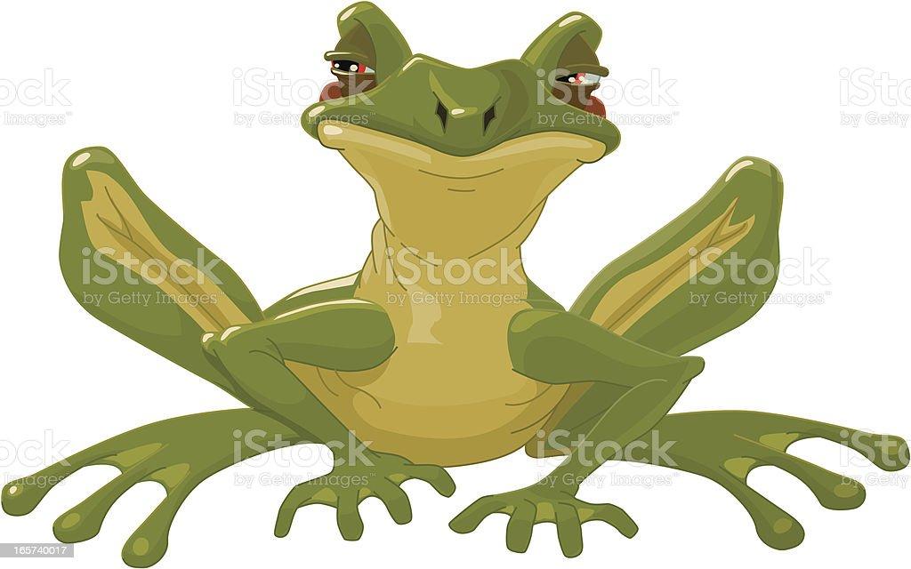 little frog royalty-free stock vector art