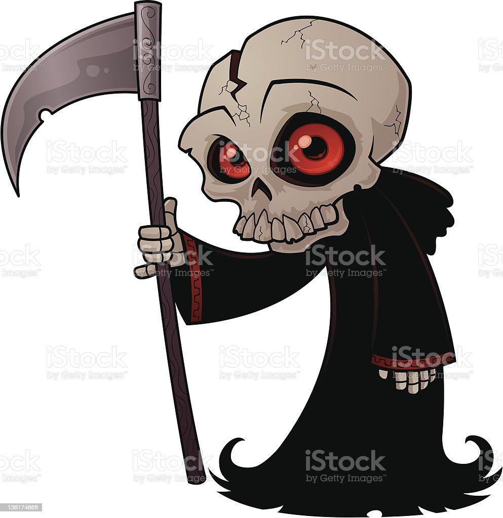 Little Grim Reaper stock photo