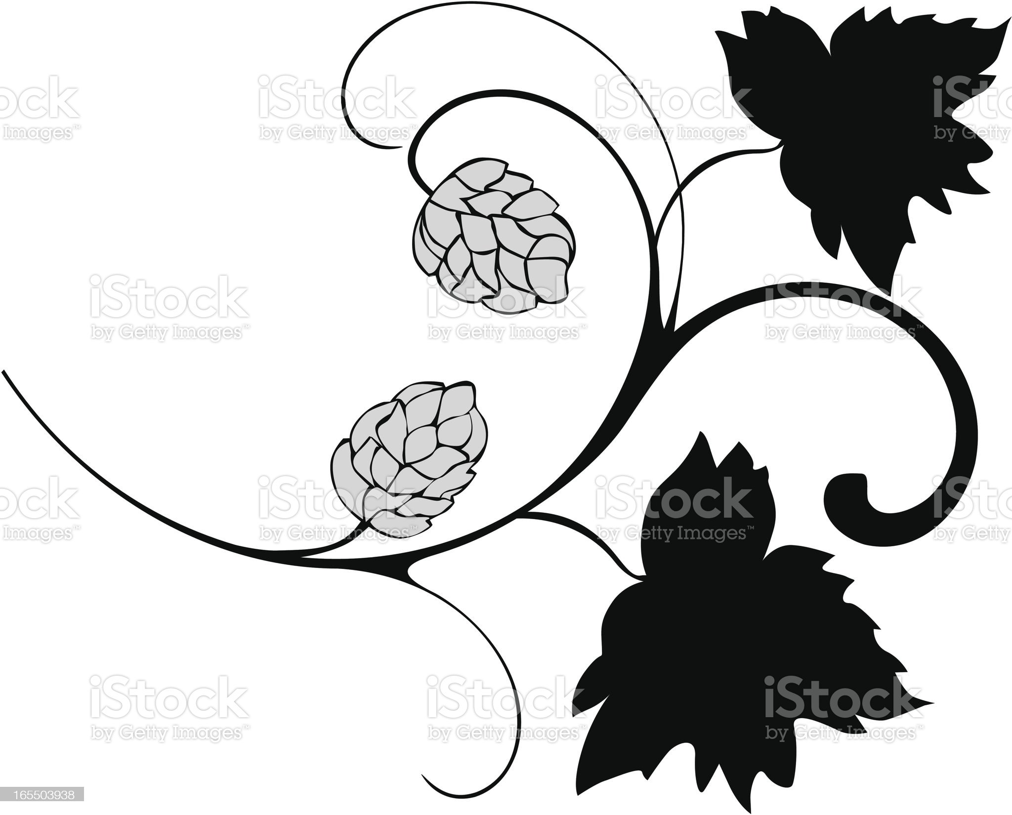 Little hop royalty-free stock vector art