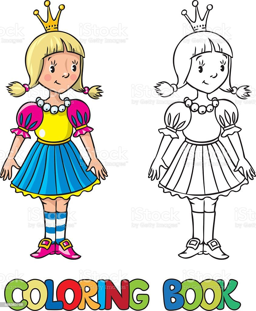 Little Princess Coloring BookPrincessPrintable Coloring Pages