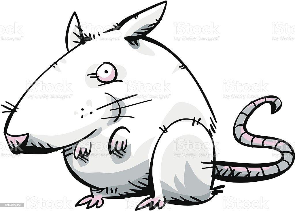 Little White Mouse royalty-free stock vector art
