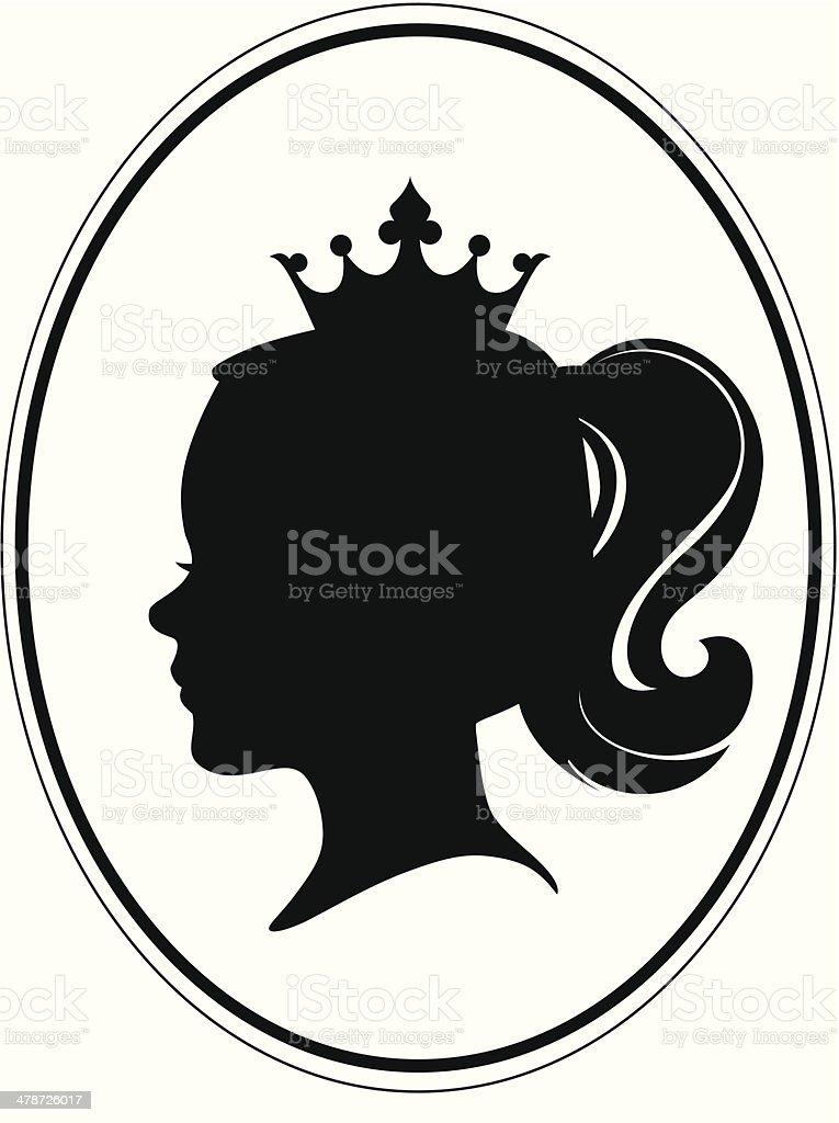 Little_princes vector art illustration