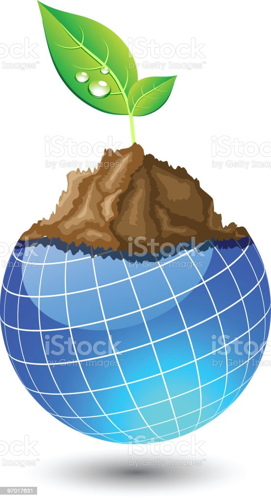 Live earth. royalty-free stock vector art