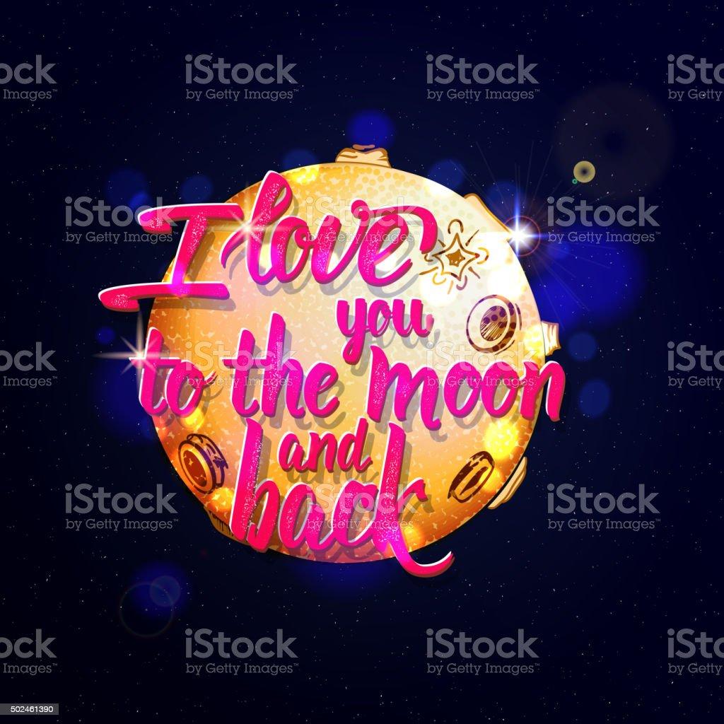 Live laugh love Hand lettering quote vector art illustration