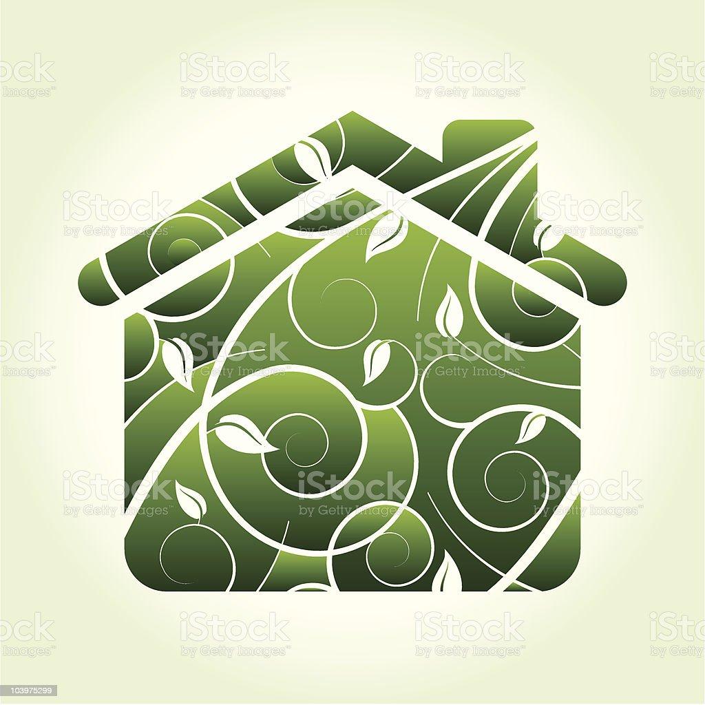 Living Green royalty-free stock vector art