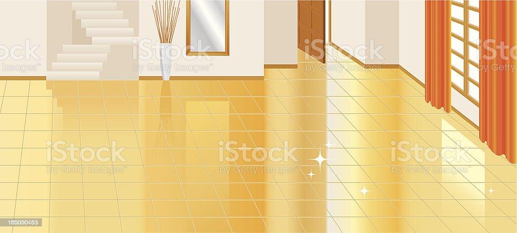 living room floor tiles royalty-free stock vector art