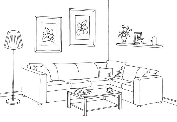 91 Living Room Images Clip Art Living Room Clipart