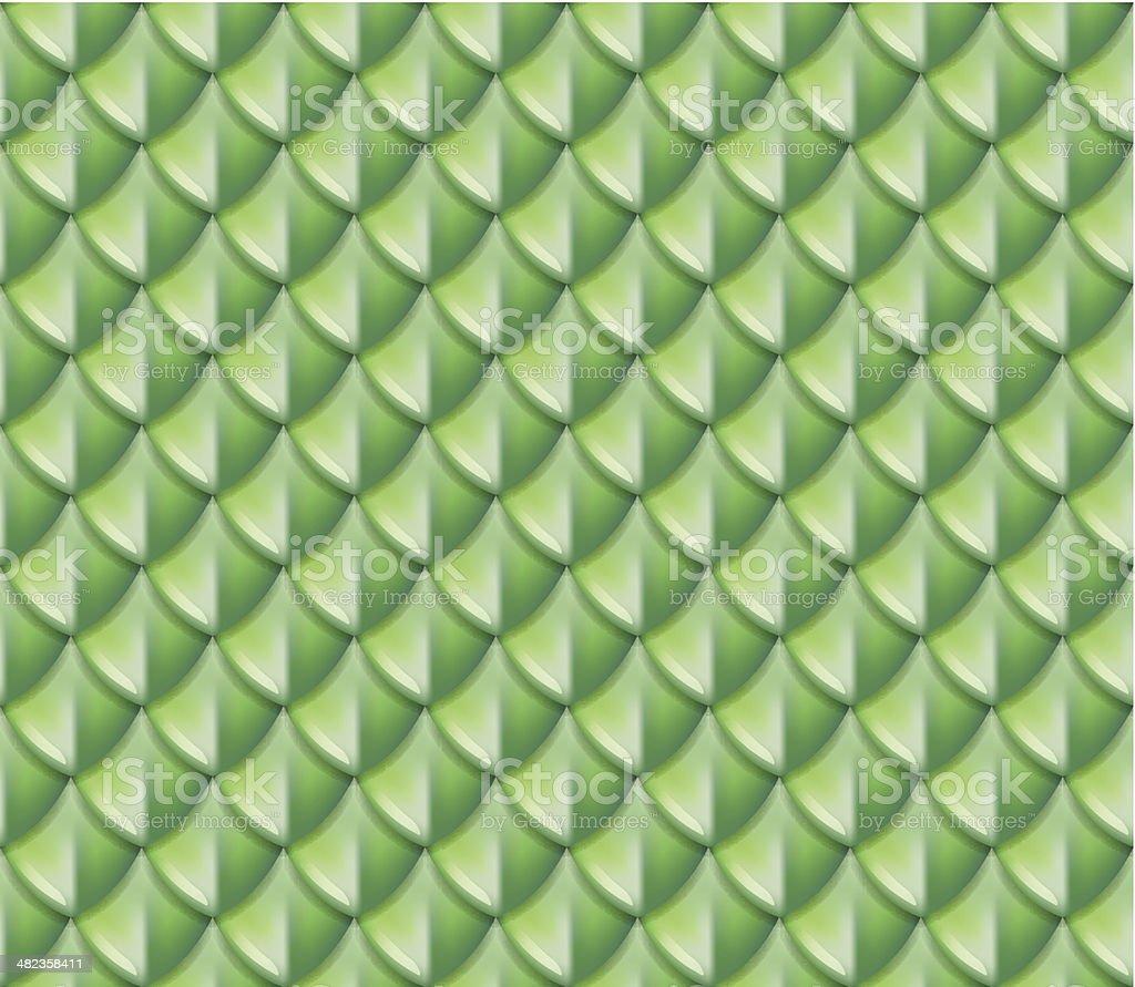 Lizard print seamless pattern vector art illustration
