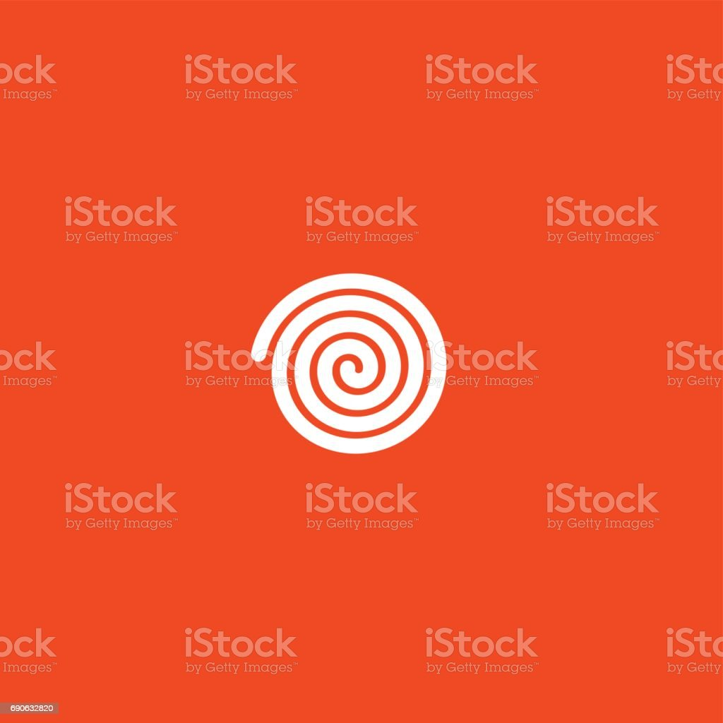 Loading circular icon vector art illustration