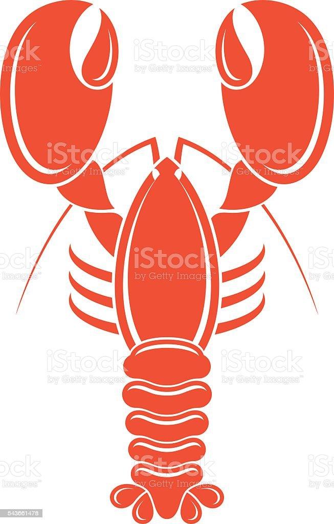 Lobster vector art illustration