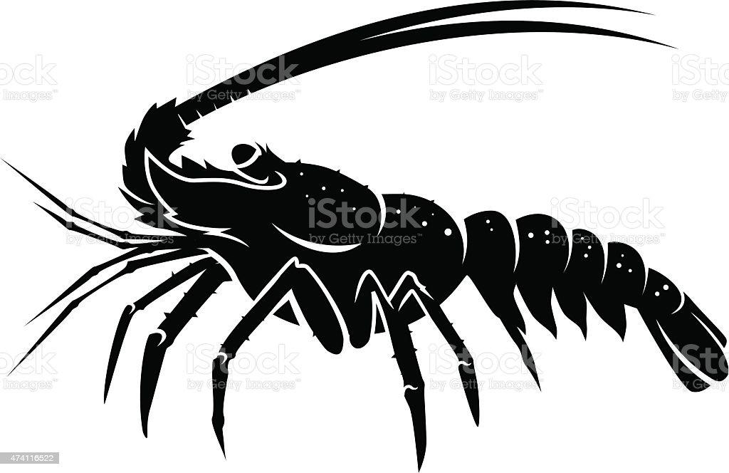 lobster vector vector art illustration