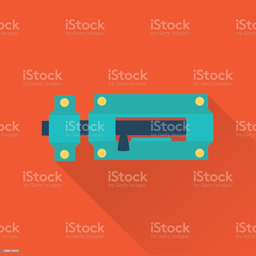 Locks icon vector art illustration