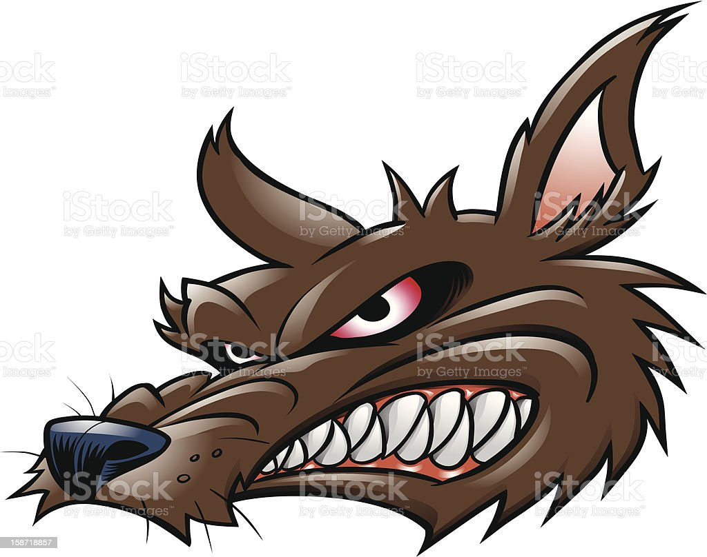 Loco Wolf stock photo