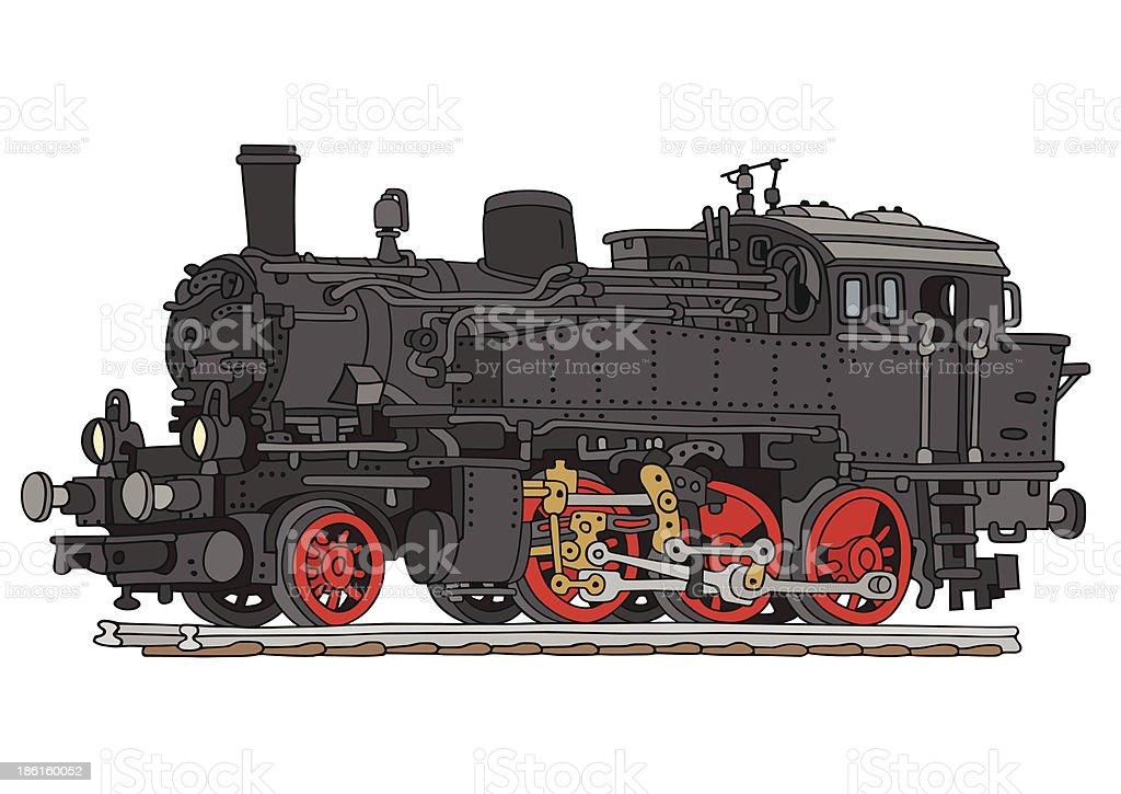 locomotive royalty-free stock vector art