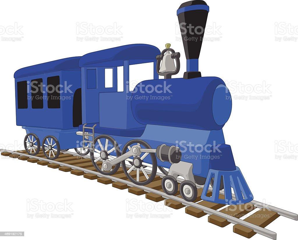Locomotive stock vecteur libres de droits libre de droits