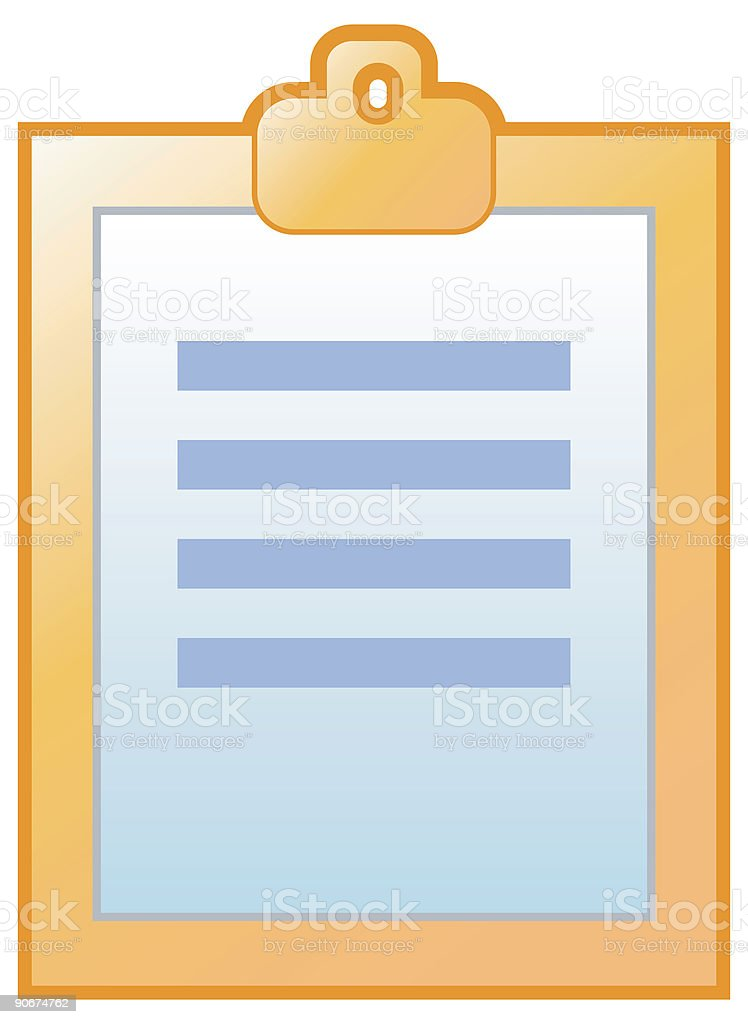Log Book vector icons royalty-free stock vector art