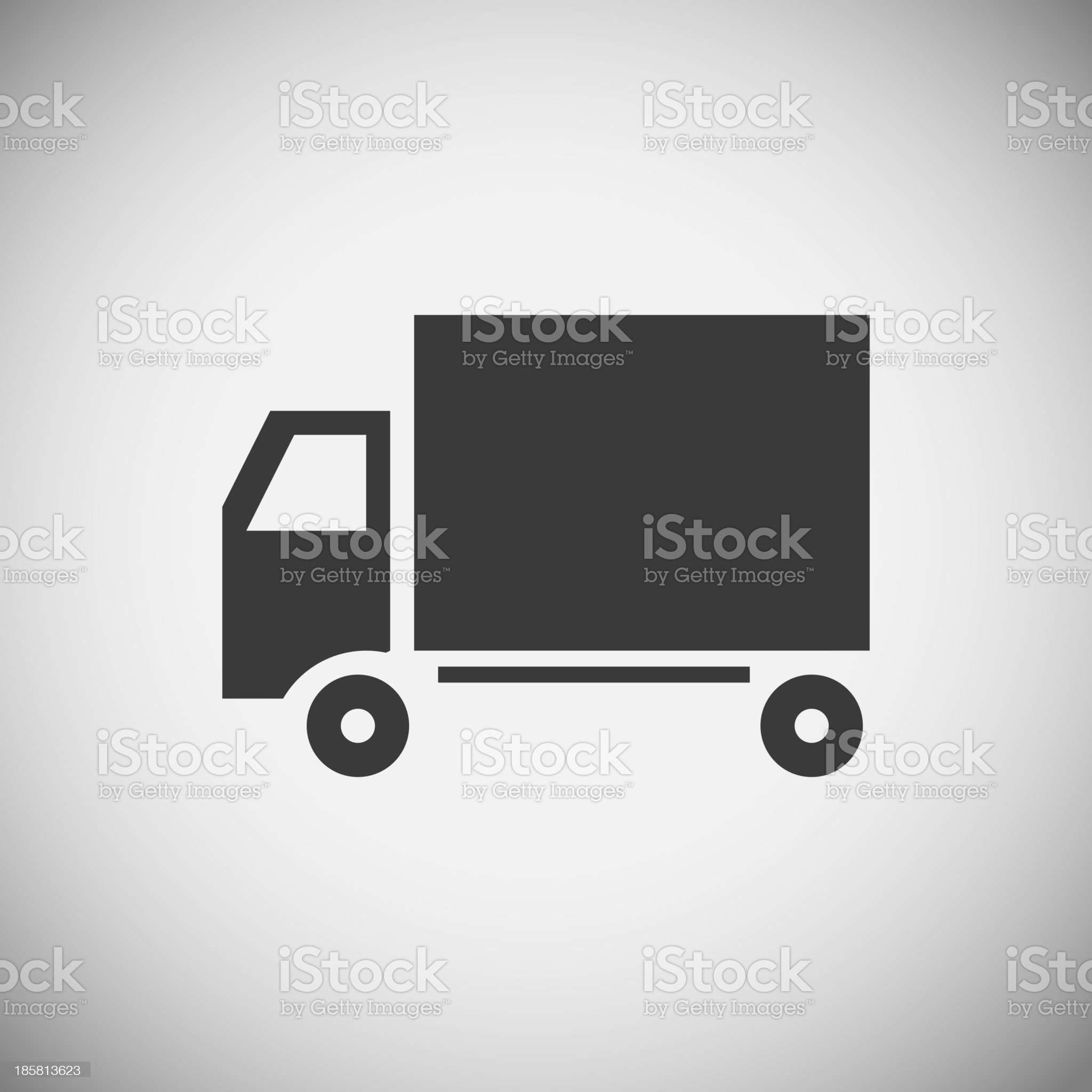Logistics application icons royalty-free stock vector art