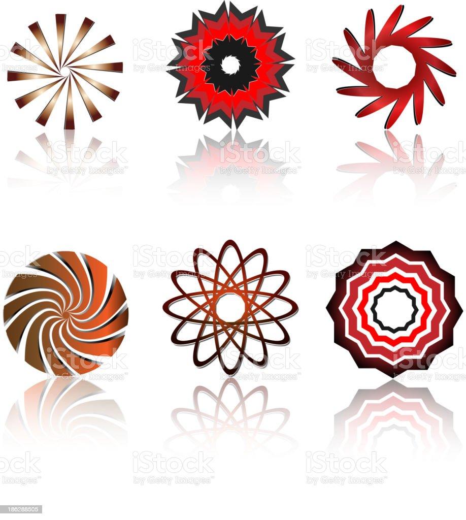 Logo & design elements royalty-free stock vector art