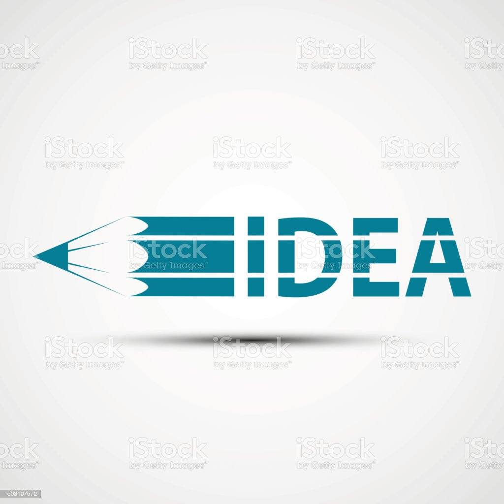 Logo design. Stock illustration. vector art illustration
