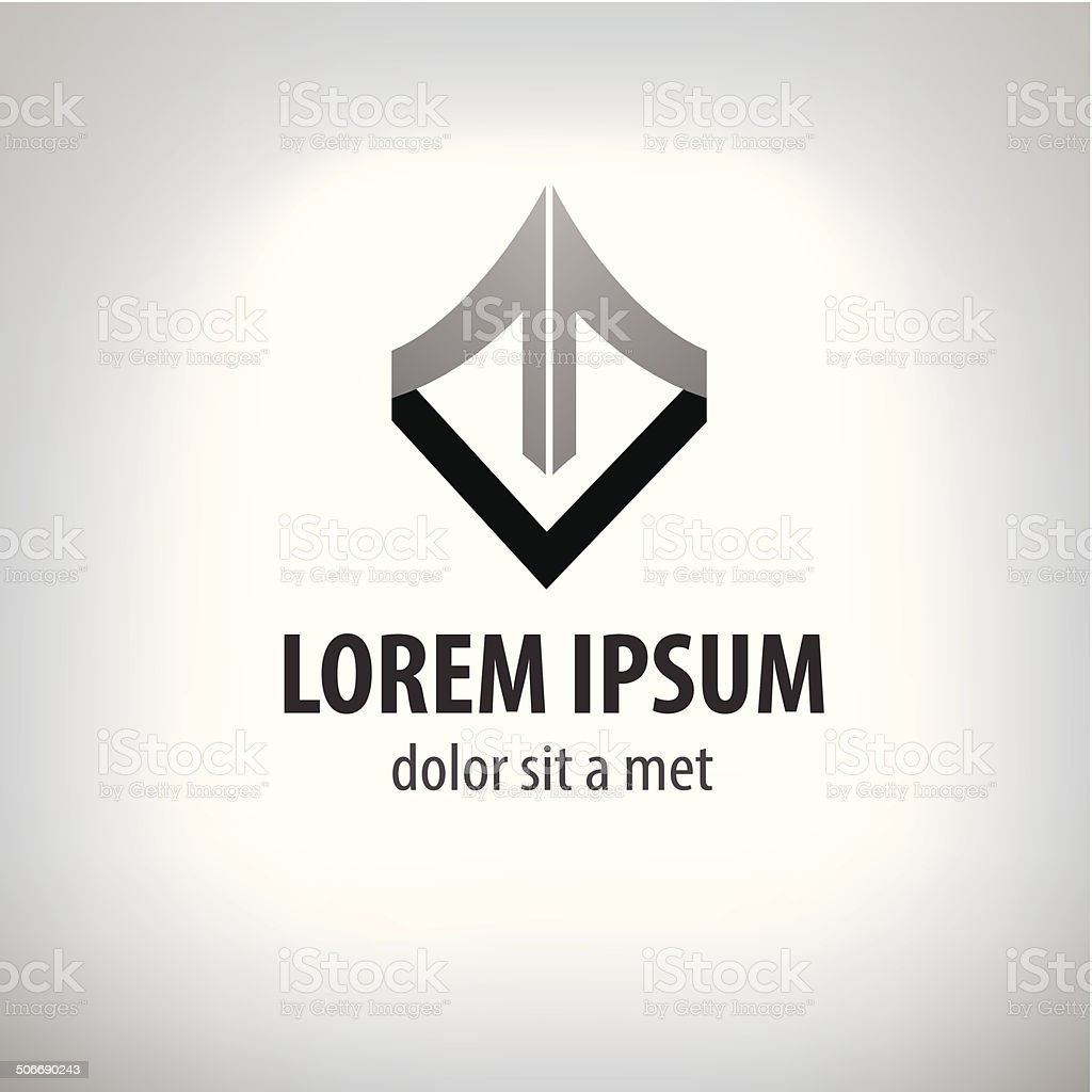 logo design template. vector art illustration