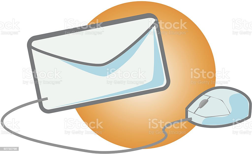 Logo - Email vector icons royalty-free stock vector art