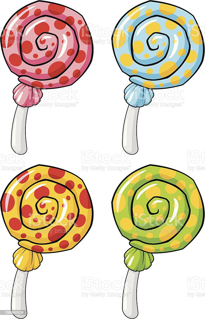 Lollipop royalty-free stock vector art